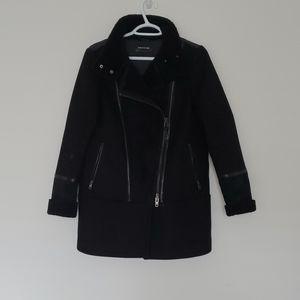 Mackage black jacket size XS